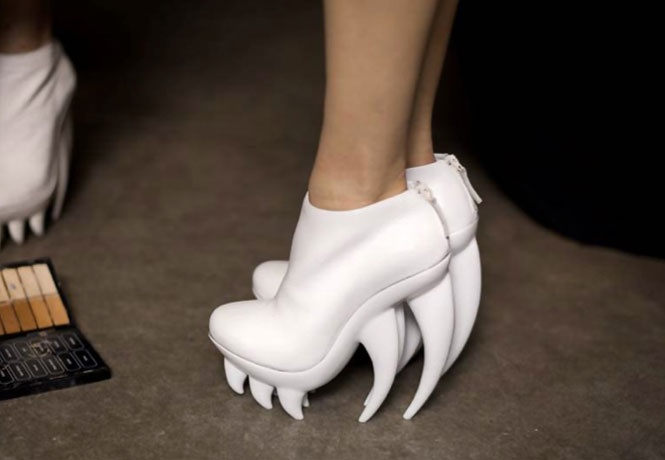 Iris Van Herpen - I'm feeling these in burnt orange