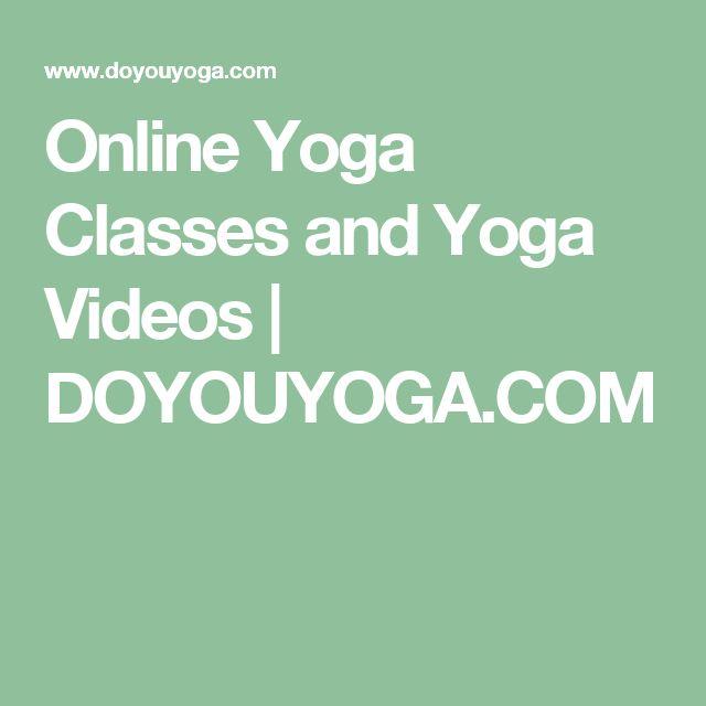 Online Yoga Classes and Yoga Videos   DOYOUYOGA.COM