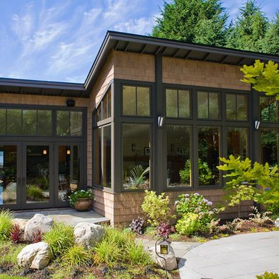 51 best potting shed images on pinterest exterior design home exterior design and cottage for Best exterior house paint for pacific northwest