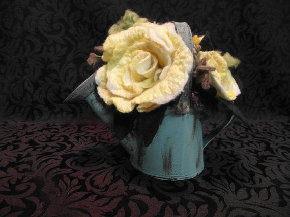 French Country Flower Arrangement by IFeltThat101 on Etsy