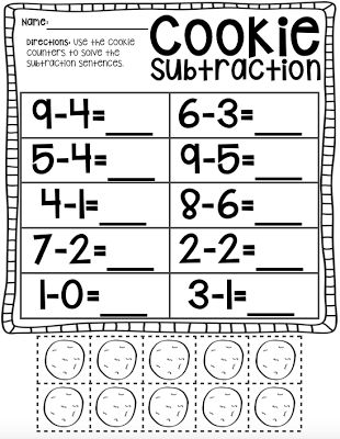 25+ best ideas about Subtraction kindergarten on Pinterest ...