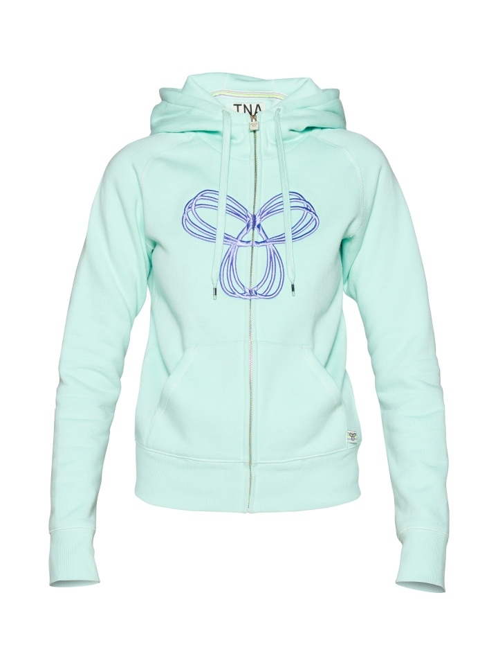 TNA Classic Fit Hoodie with Puff Spiro