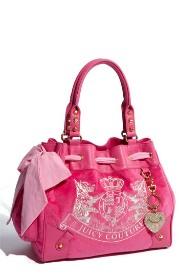 Juicy Couture 'Scotty - Daydreamer' Velour Tote $198.00