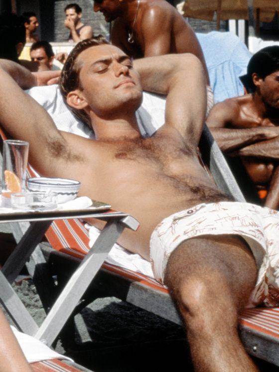 Jude Law Le talentueux Mr Ripley maillot de bain