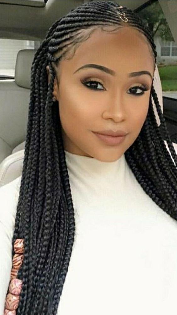 beautiful fulani inspired braids