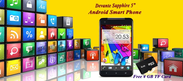 Specifications Android 4.0 based mobile phone devante sapphire in india has a large 5 inch HD display and is powered by a 1 GHz MTK processor and 512 MB of RAM. It also has 128+ 4 GB of internal memory. It has an 5 megapixel camera, which is capable of capturing high resolution image & video. More Detail to Visit http://www.devante.co.in/sapphire.php and call us@8285505555.