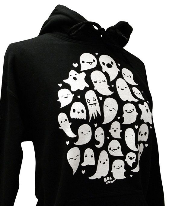 Hey, I found this really awesome Etsy listing at http://www.etsy.com/listing/161884139/ghost-hoodie-kawaii-ghosts-unisex