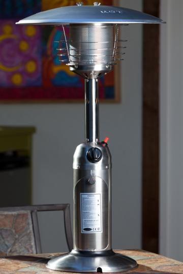 Tabletop Propane Patio Heater - Outdoor Propane Heaters - Portable Propane Heaters - Tabletop Patio Heater | HomeDecorators.com