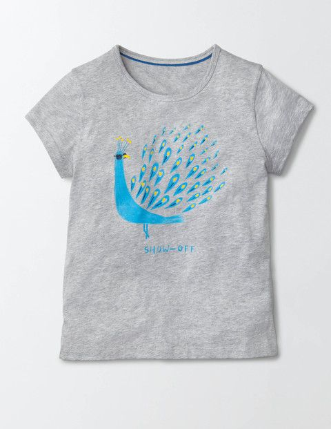 This playful printed T-shirt is just the thing for fun in the sun. The soft cotton is perfect for slipping on over your swimming costume, while the eye-catching print featuring a cheeky animal is sure to raise a few smiles as you pop to the shops for an ice-cream.