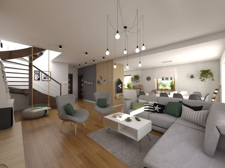 salon, living room www.atoato.pl
