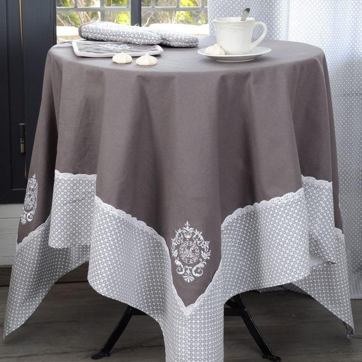 Nappe rectangulaire (L250 cm) Meline : choisissez parmi tous nos produits Nappe de table