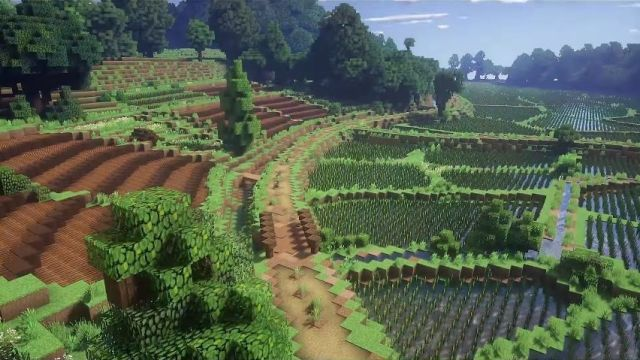 Now I want to build a map that looks like the movie My Neighbor Totoro! This looks so much like it.