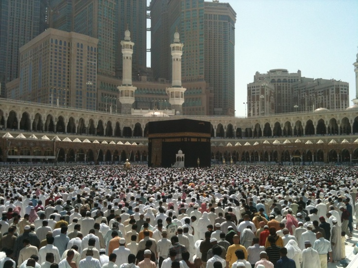 Jumma at the Grand Mosque - Mecca