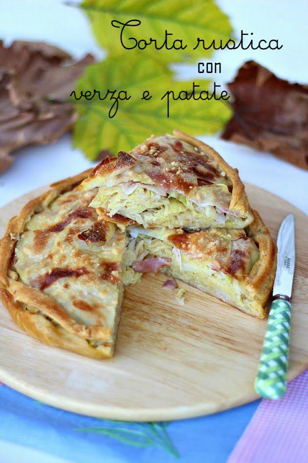 """Torta rustica con verza, bacon e patate ed """" Io come Tu"""""""