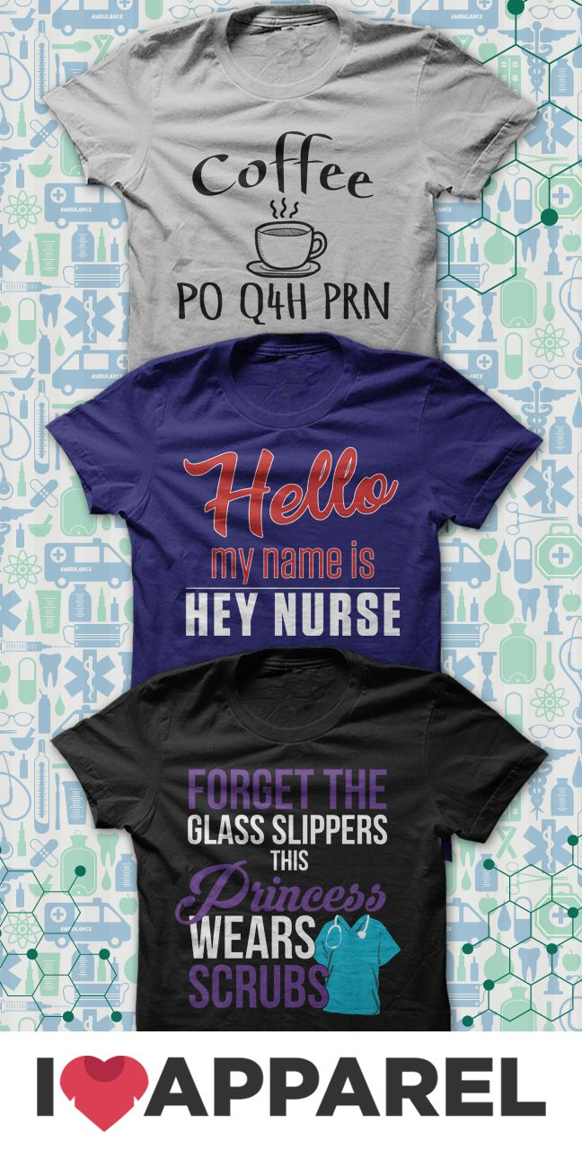 We really love our nursing shirts! Have a good laugh looking through our collection of shirts for nurses and buy a few for your wardrobe. Only at iloveapparel.com