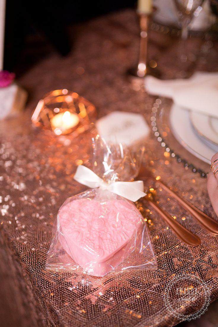 Heart Wedding Favors, Chocolate Wedding Favors, Pink Wedding Favors  JN Event Design   www.jneventdesign.com