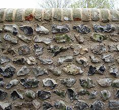 Traditional Flint Wall