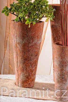 Terracotta váza