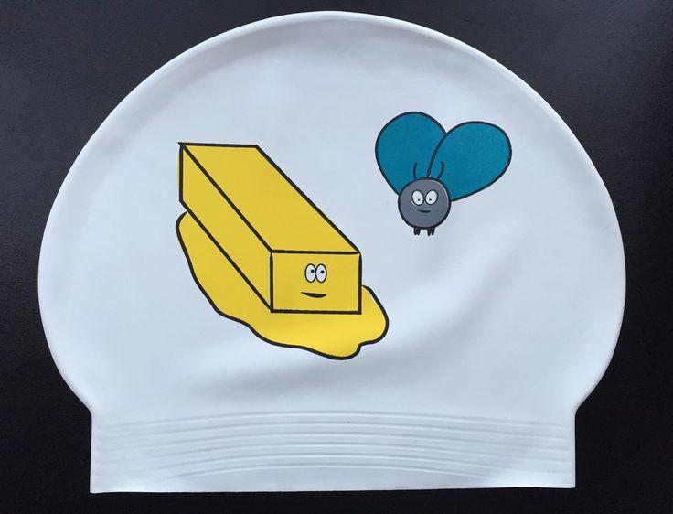 Butterfly Swim Cap, Butter Fly Logo by shopKNITKA on Etsy https://www.etsy.com/listing/223241295/butterfly-swim-cap-butter-fly-logo