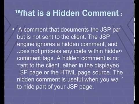 JSP interview questions https://www.youtube.com/watch?v=5gSgBT6gnjQ