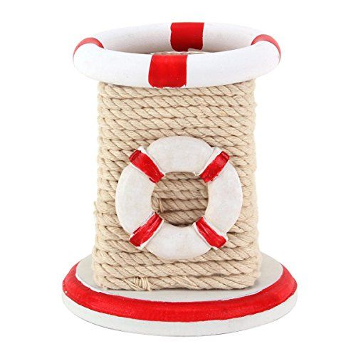 UniqueBella Nautical Rope Entwined Lifebouy Charm Pen Pencil Holder Desktop Stationery Organizer Box Red UniqueBella http://www.amazon.co.uk/dp/B00V61S25C/ref=cm_sw_r_pi_dp_sh1Pwb04ENGRA