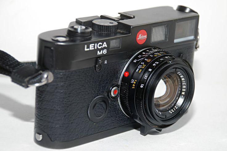 Leica M 6 mit Summicron 1:2/35 mm in Cullmann Tasche