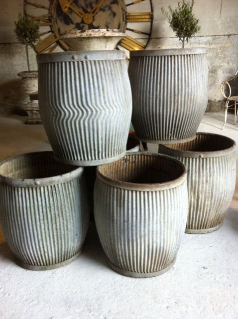 Vintage Dolly Tubs - England - 1920-1950's.