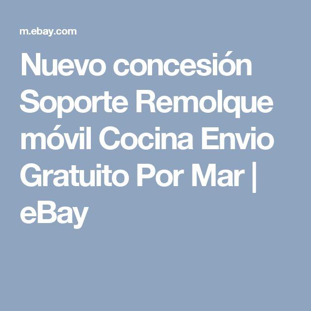 Nuevo concesión Soporte Remolque móvil Cocina Envio Gratuito Por Mar  | eBay