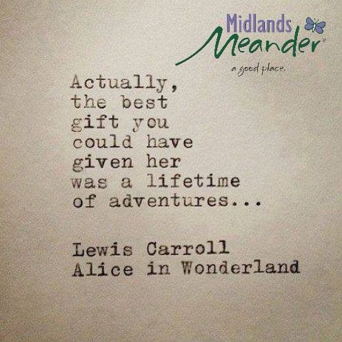 Need and adventure? www.midlandsmeander.co.za