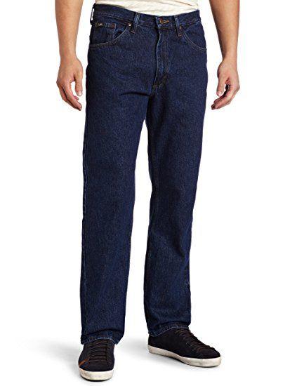 a4ed8238752 LEE 21002 Men's Regular Fit Straight Leg Jean - Big & Tall, Dark Stone -  44W x 29L