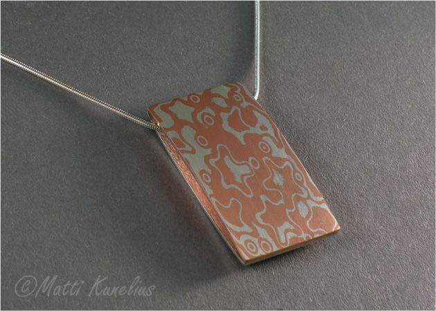 57 best metal mokume gane images on pinterest jewellery making mokume pendant sterling silver copper mokume sterling silver backing mkunelius aloadofball Gallery