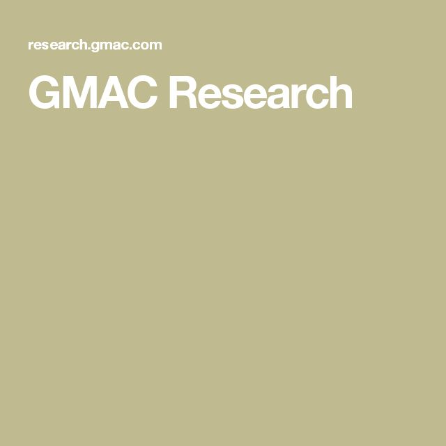 GMAC Research