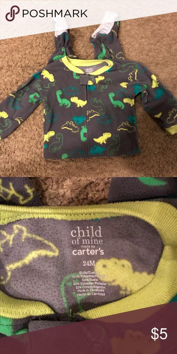 fd34b3bb0 (24 months) carters fleece dinosaur pajamas Great condition, cozy fleece  Child of Mine Carters pajamas. Carter's Pajamas | My Posh Closet in 2019 |  Child of ...