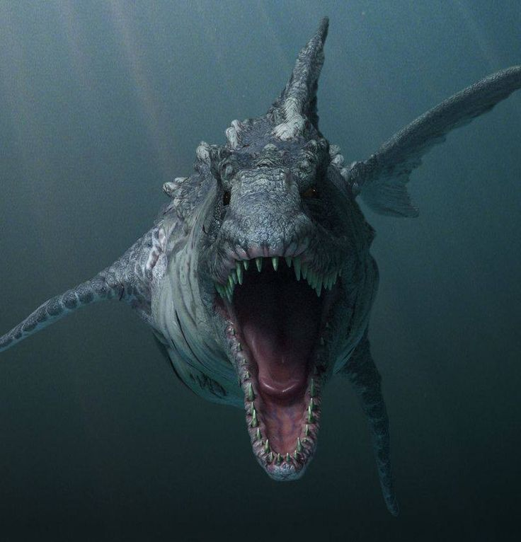 In prehistoric times the seas, rivers and swamps could be just as deadly as dry land.