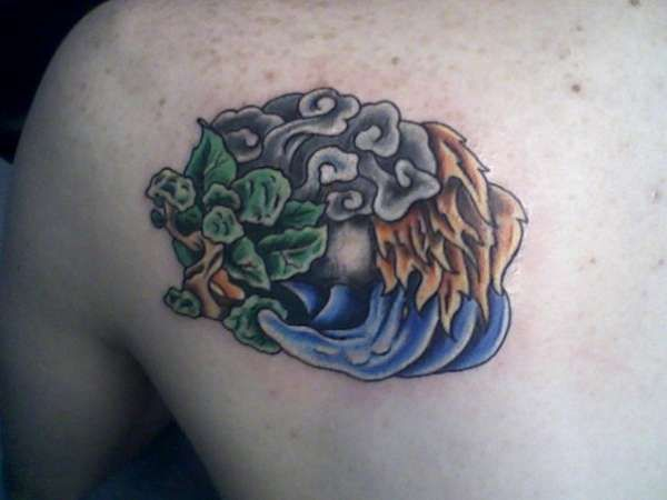 Four elements tattoo google search tattoos pinterest for Four elements tattoo