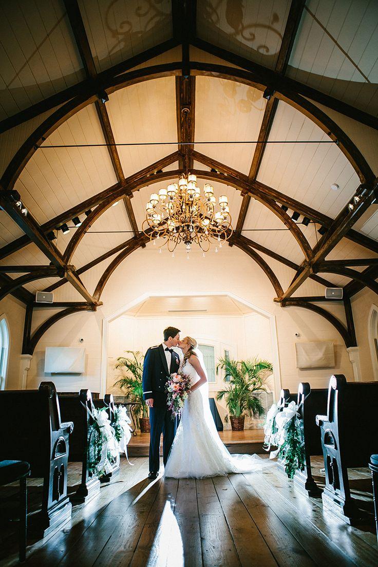 A Glamorous Fall Wedding At The Tybee Island Chapel In Tybee Island GA