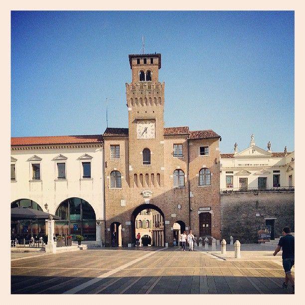 Piazza Grande nel Oderzo, Veneto