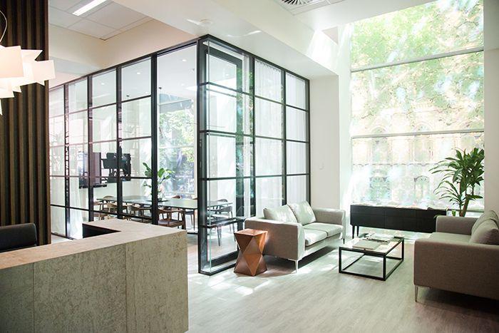 Beulah International Melbourne - Client waiting room area