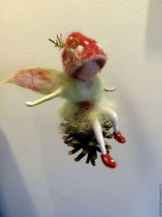 Коллекционные куклы ручной работы. Валяние Лесной эльф. Galia Borozdina (dreamslab). Ярмарка Мастеров. Коллекционные куклы, домашний декор