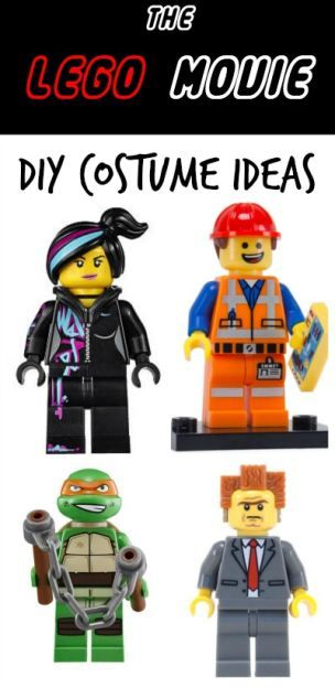 DIY LEGO MOVIE Costume Ideas