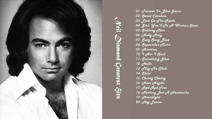 Neil Diamond Greatest Hits Full Album | Top 30 Best Songs Neil Diamond HD