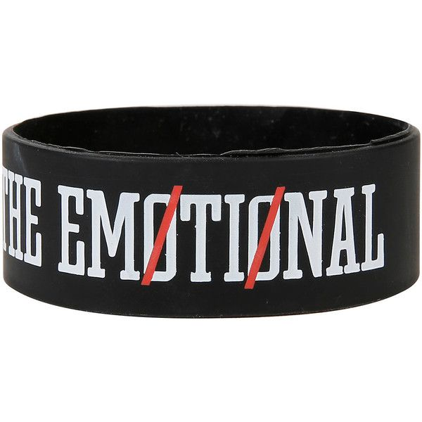 Twenty One Pilots The Proud Rubber Bracelet Hot Topic (£3.46) ❤ liked on Polyvore featuring jewelry, bracelets, 1920s jewelry, rubber bangles, rubber jewelry, roaring twenties jewelry and 1920s style jewelry