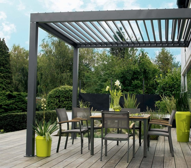 25 best images about vivere all 39 aria aperta on pinterest gardens picco - Toile pour pergola leroy merlin ...