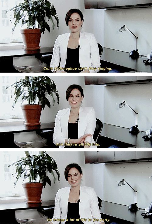 Lana talking about Colin
