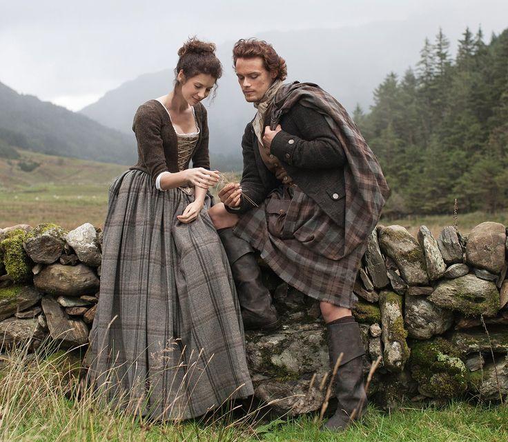 Outlander : Claire et Jamie Fraser - La première photo !