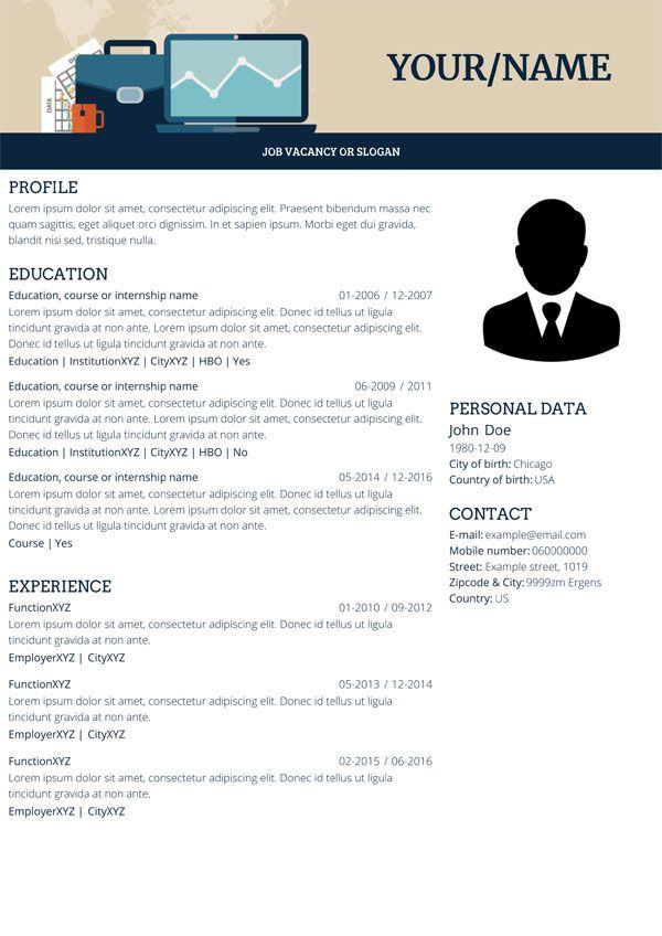 18 best CV5 Easy Online Resume Builder images on Pinterest