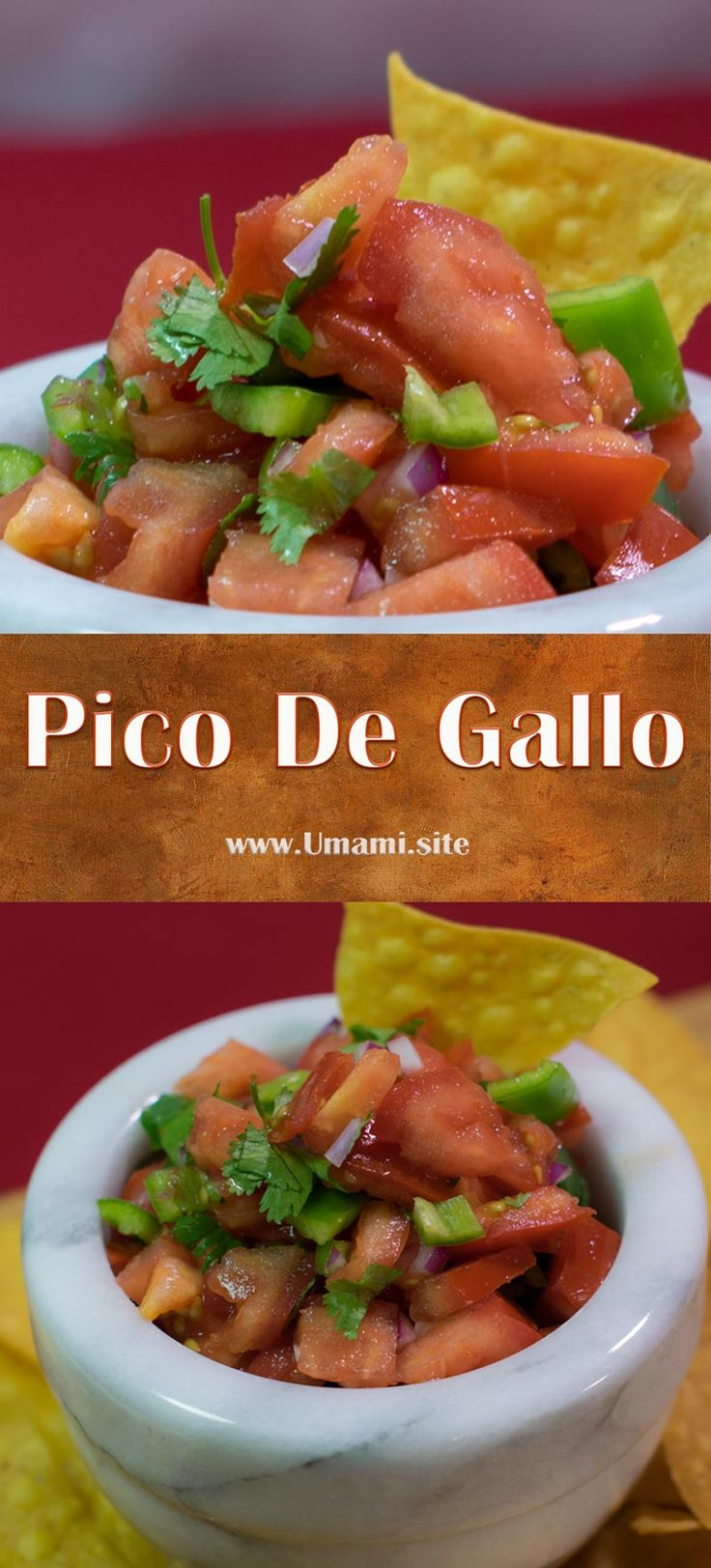 Pico de gallo is a great addition to any Mexican or southwestern dish. The fresh tomatoes, cilantro, and pepper are an easy way to brighten up tacos, burritos, and quesadillas.