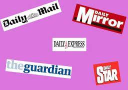 Resultado de imagen de newspapers names