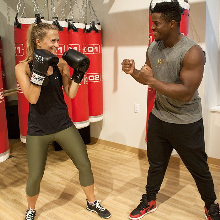 Fighter and celeb trainer Hollywood Hino breaks down proper boxing technique, so you can jab-cross-hook like a pro.