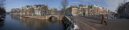 Amsterdam Canals Panorama | Flickr - Photo Sharing!